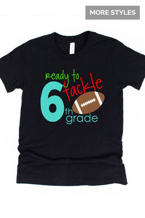 Picture of Tackle Back To School Graphic Tees (Youth)