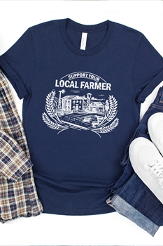 Picture of Support Your Local Farmer Graphic Tee