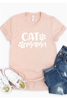 Picture of Cat Mama Graphic Tee