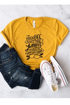 Picture of When Life Gives You Lemons Graphic Tee