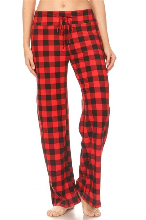 Picture of Buffalo Plaid Casual Pants