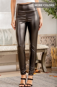 Picture of Faux Leather Skinny Leggings 🇺🇸